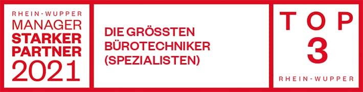 Kopiererwelt ausgezeichnet vom Rhein Wupper Manager